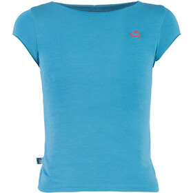 E9 B Rica Camiseta Niños, cyan